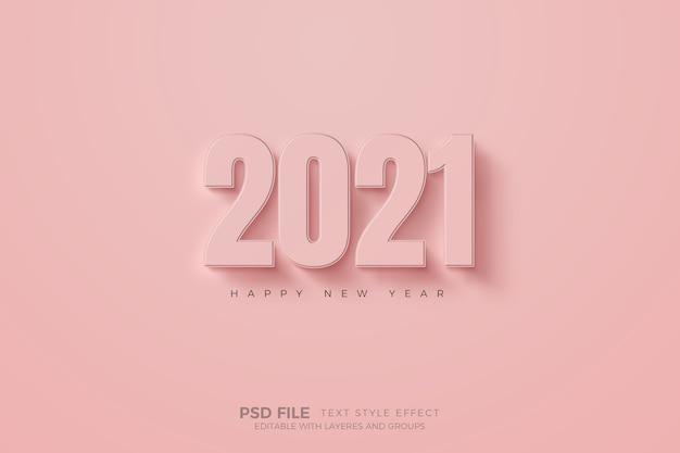 빨간 숫자 템플릿으로 새해 복 많이 받으세요 프리미엄 PSD 파일