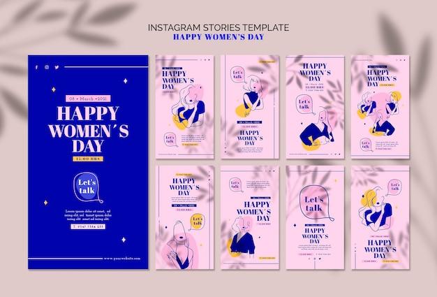幸せな女の日instagramストーリー 無料 Psd