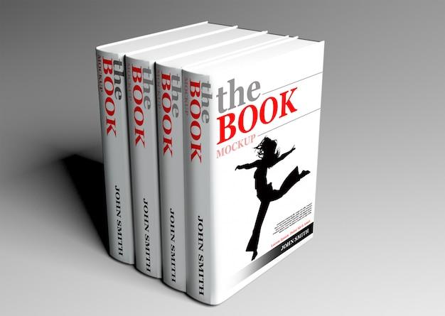 Hardcover book mock up Premium Psd