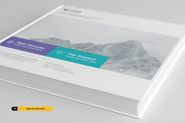Hardcover book mockup Premium Psd