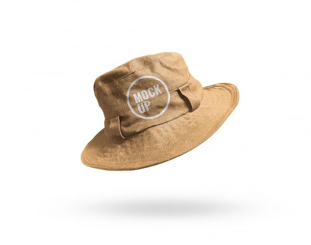 帽子バケットモックアップ Premium Psd