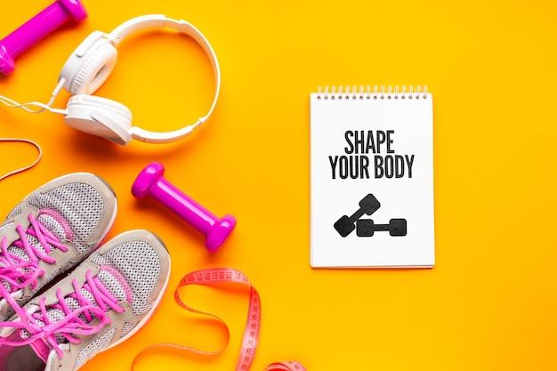 Cuffie e attrezzature per il fitness per la classe Psd Gratuite