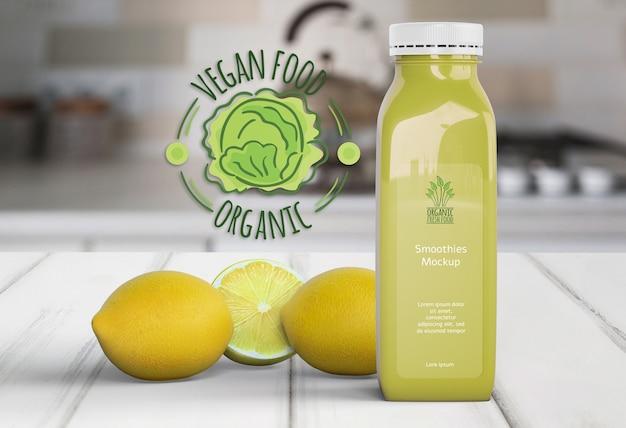 Здоровый лимонад для концепции детоксикации Бесплатные Psd