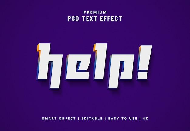 Помогите редактируемый текстовый генератор эффектов Premium Psd