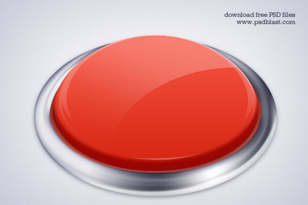 high resolution push button icon  psd Free Psd