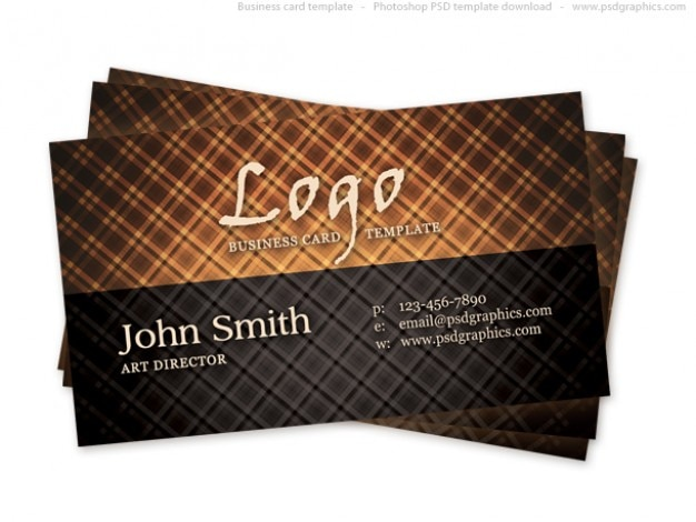 Hot vintage business card psd file free download hot vintage business card free psd reheart