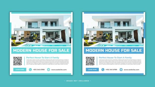 House sale social media post banner template premium psd Premium Psd