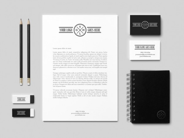 Identity business card mockup psd psd file free download identity business card mockup psd free psd reheart Images
