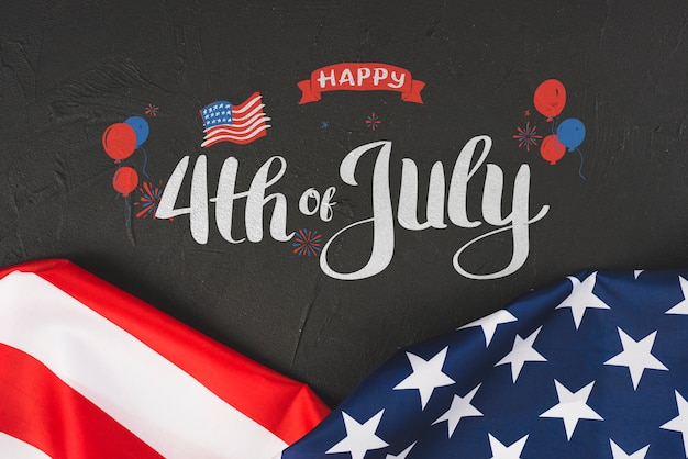 Independence day in united states of america. 4th july Free Psd