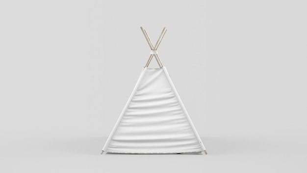 Tenda o tenda indiana per bambini Psd Gratuite