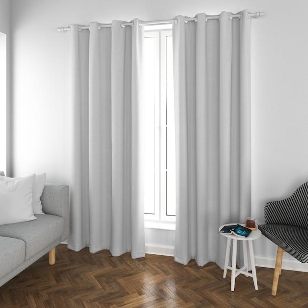 Interior design living room Free Psd