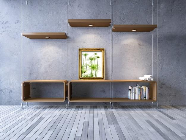 Interior Design Mockup With Modern Furniture Psd File Premium Download - Diseos-interior