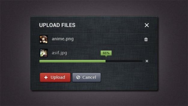 internet upload form ui elements psd file