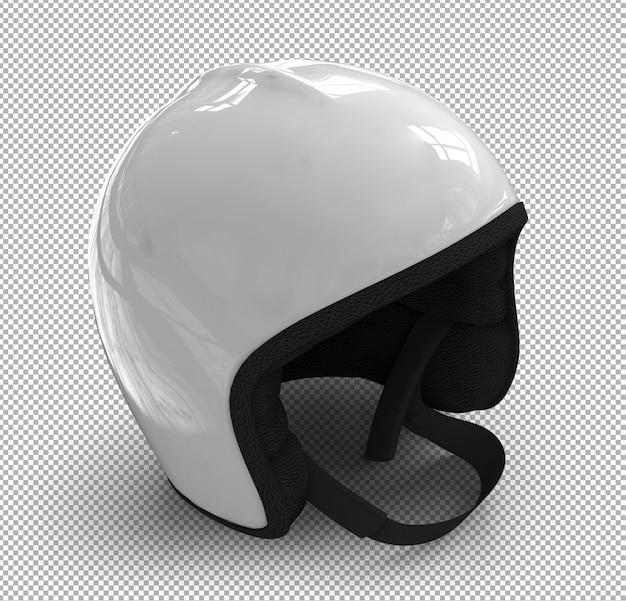 Isolated helmet. isometric view Premium Psd