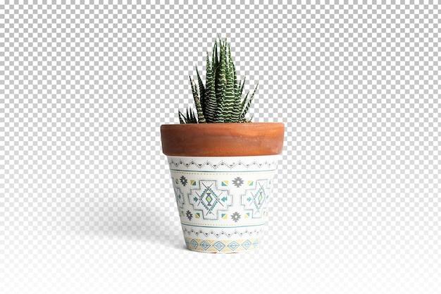 分離された3dレンダリングで分離された植木鉢 Premium Psd