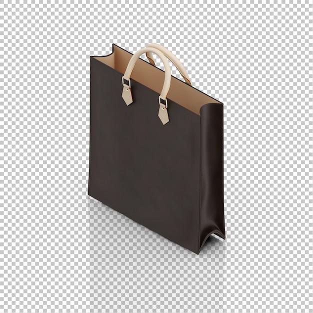 Isometric bag Premium Psd