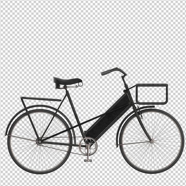 Isometric bike Premium Psd