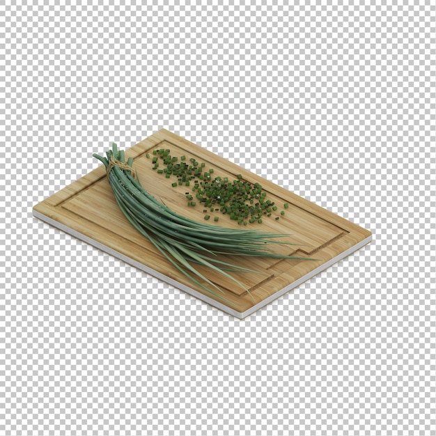 Isometric kitchen herbs Premium Psd