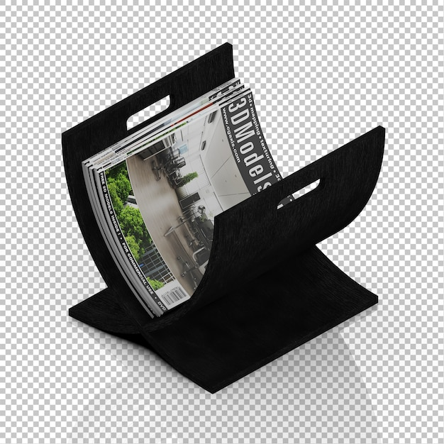 Isometric magazines Premium Psd