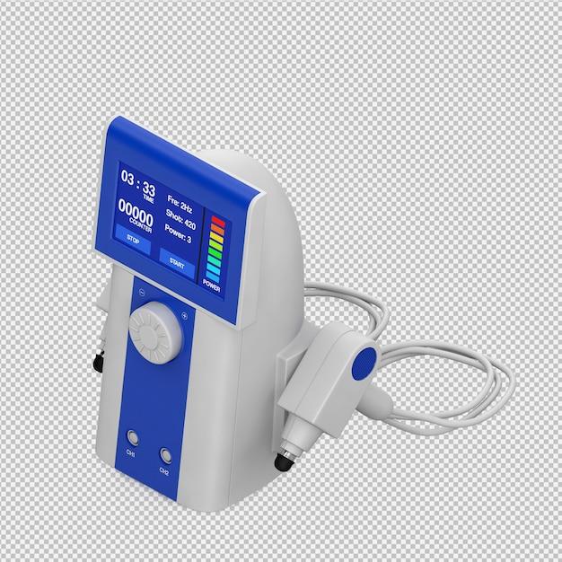 Isometric medical equipment 3d render PSD file   Premium ...