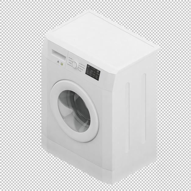 Isometric washing machine Premium Psd