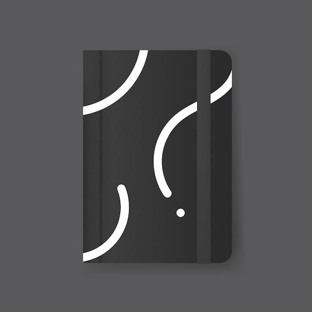 Journal cover design mockup Free Psd