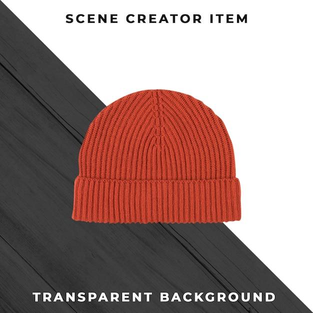 Cappello lavorato a maglia isolato con tracciato di ritaglio. Psd Gratuite