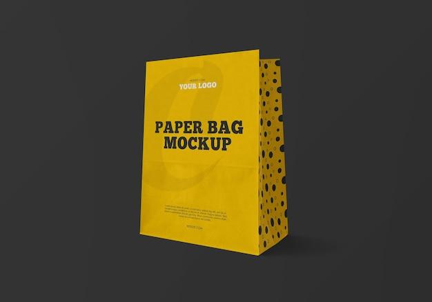 クラフト紙袋のモックアップ Premium Psd