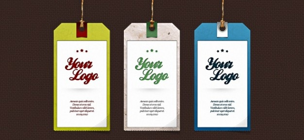 label psd set tag templates psd file free download