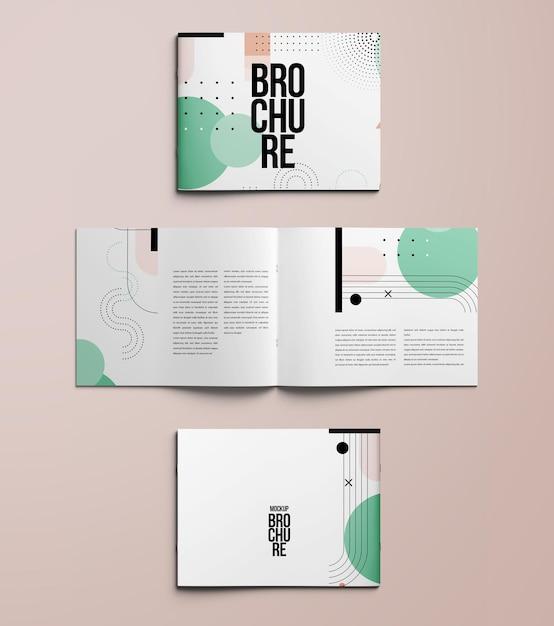Изолированный макет брошюры a4 Premium Psd