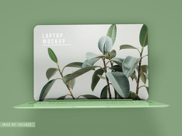 Дизайн мокапа ноутбука psd Бесплатные Psd