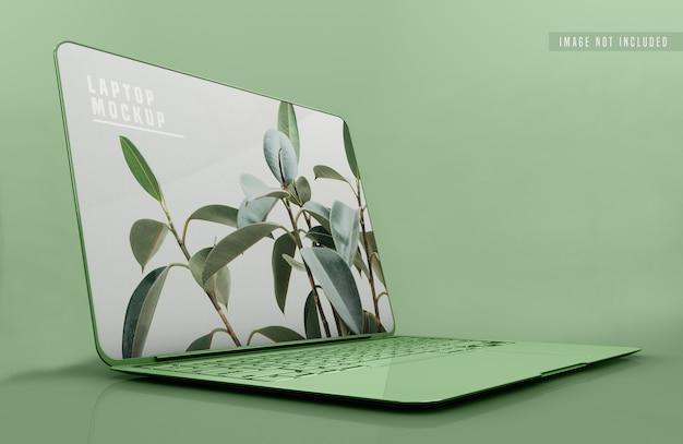 Laptop mockup design Free Psd