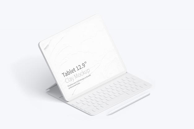 Laptop screen mockup Premium Psd