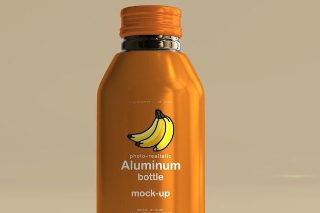 대형 알루미늄 음료 병 모형 무료 PSD 파일