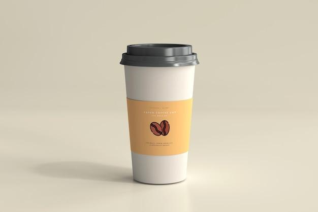 대형 종이 커피 컵 모형 무료 PSD 파일