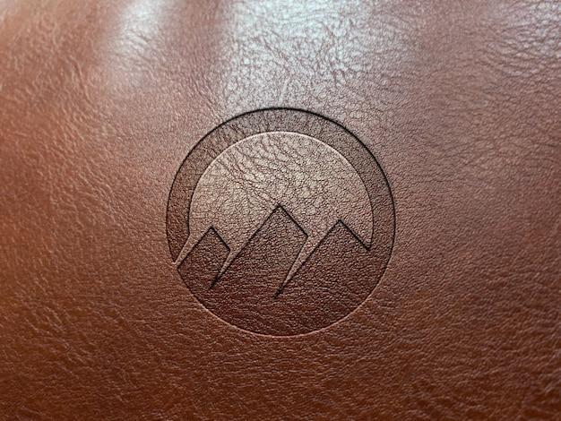 premium psd leather embossing logo https www freepik com profile preagreement getstarted 8280583