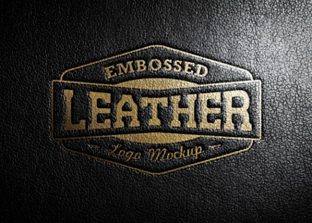Leather Stamping Logo  Free Psd