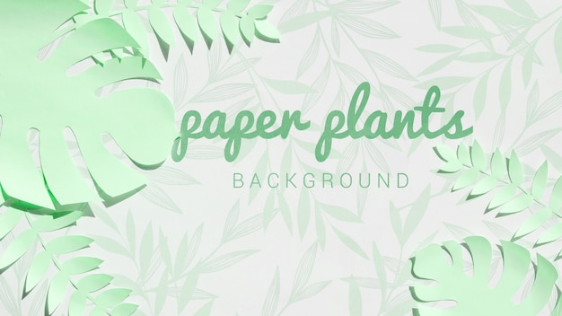 Lime green monstera leaves background Free Psd