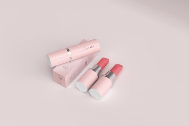 립스틱 모형 프리미엄 PSD 파일