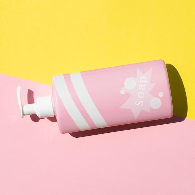 Liquid soap bottle mock-up Free Psd