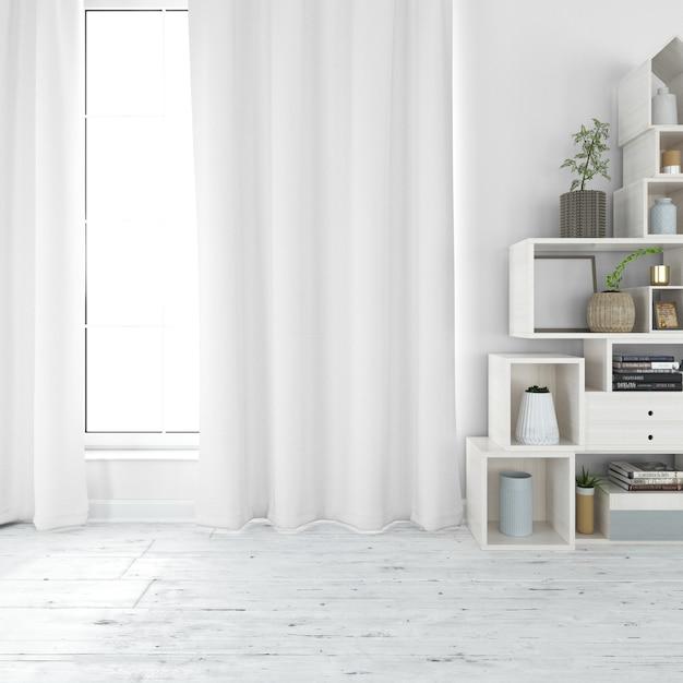 Современная мебель для гостиной Бесплатные Psd