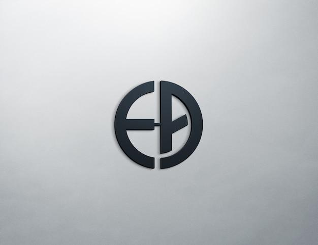 로고 모형 3d 프리미엄 PSD 파일