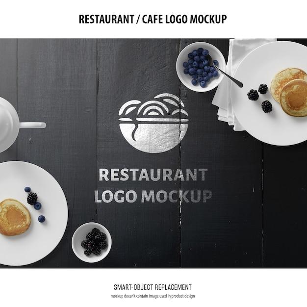 로고 모형 무료 PSD 파일