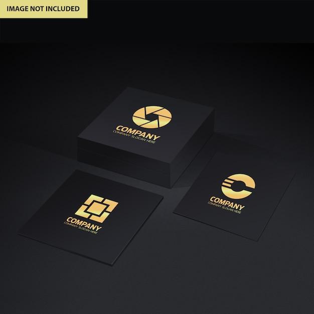Logo presentation mockup Premium Psd
