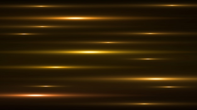 Luminous gold abstract sparkling lined background. Premium Psd