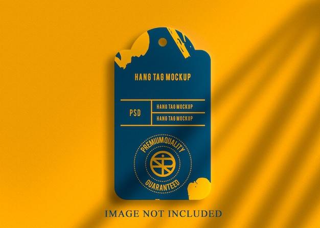 Роскошный дизайн макета логотипа королевский дизайн бирки Premium Psd