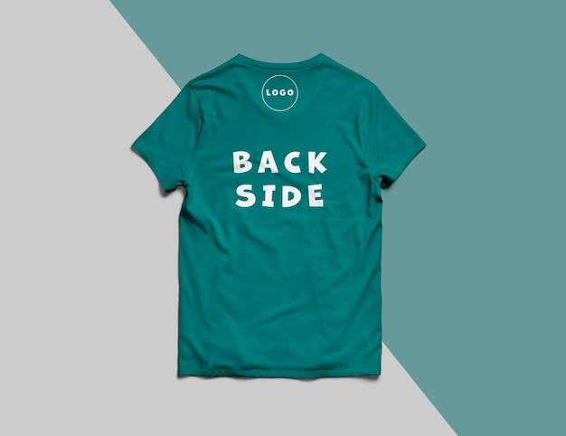 고립 된 럭셔리 티셔츠 모형 프리미엄 PSD 파일