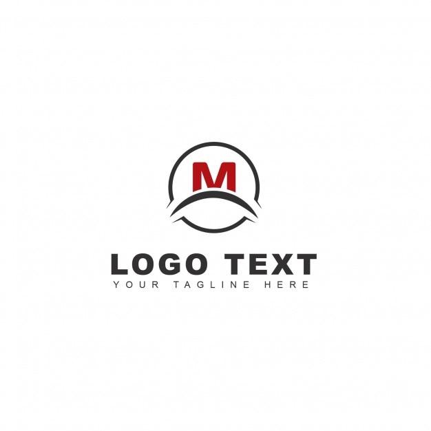 M letter logo Free Psd
