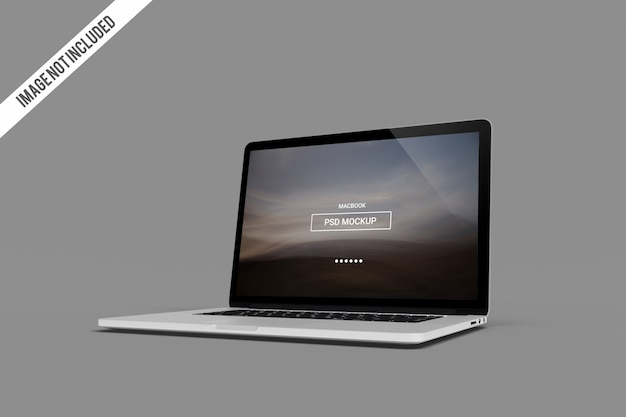 Macbook proモックアップ Premium Psd