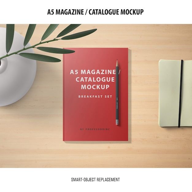 Mockup catalogo rivista Psd Gratuite